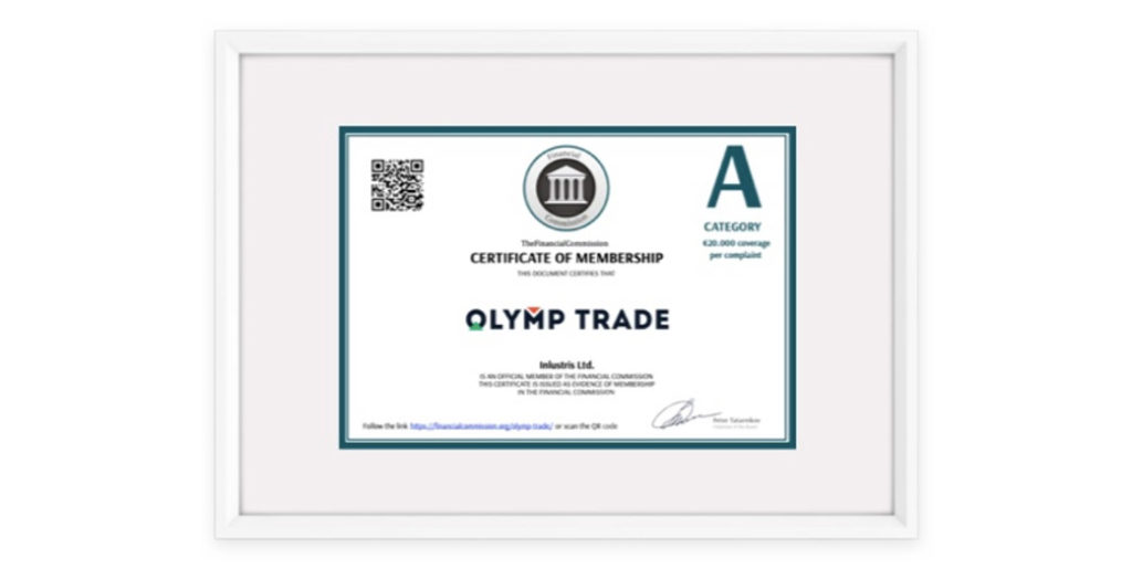 Olymp Trade - IFC Class A