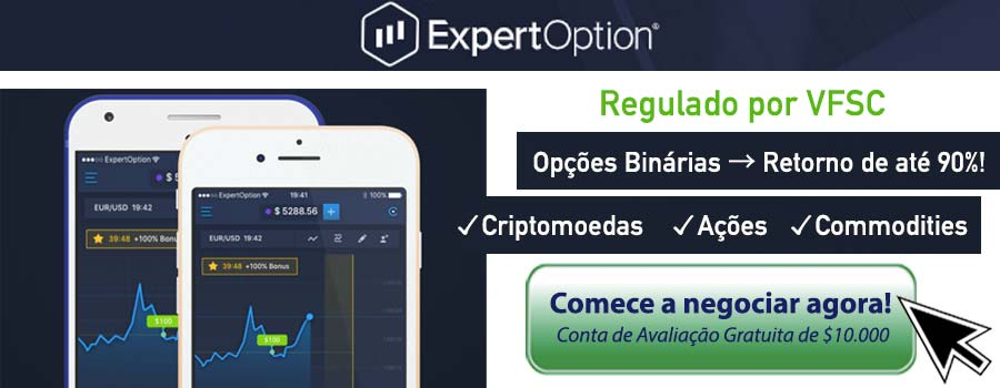 Opções Binárias ExpertOption