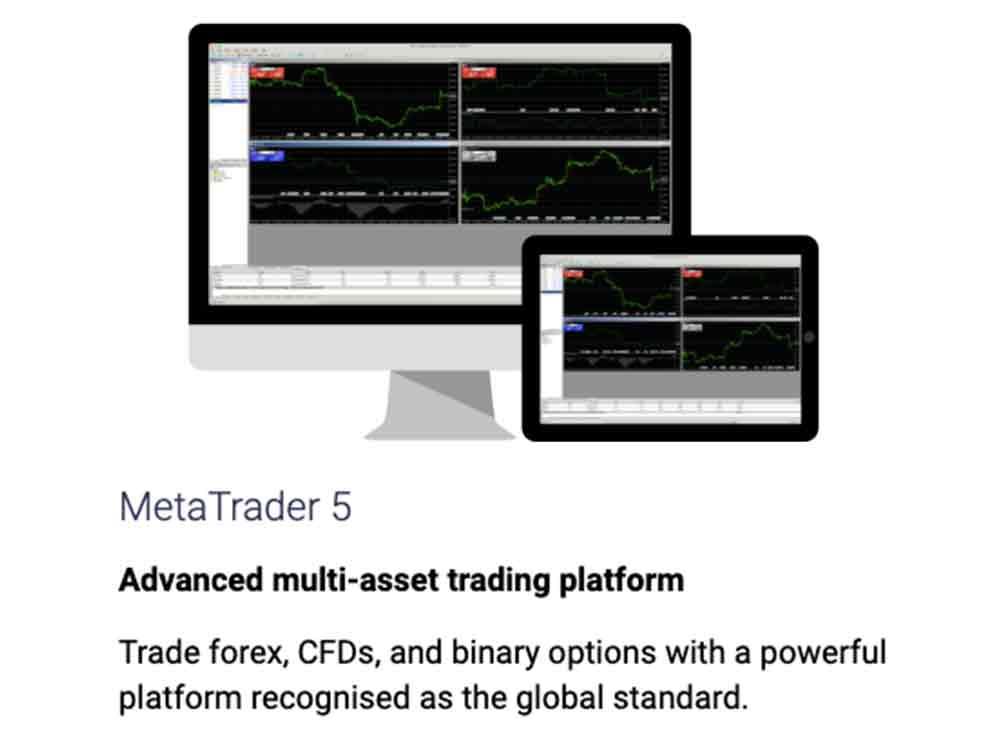 MetaTrader 5 na Binary.com